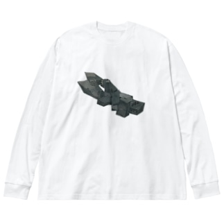 void Big silhouette long sleeve T-shirts