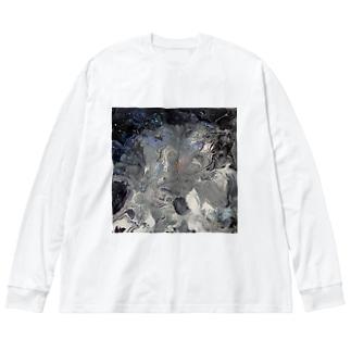 Mb Big silhouette long sleeve T-shirts