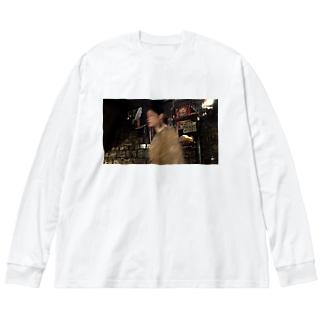 fp_47_Photo Big silhouette long sleeve T-shirts