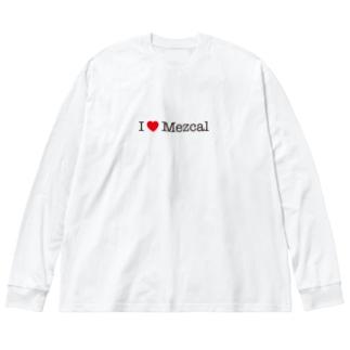 I love Mezcal Big silhouette long sleeve T-shirts