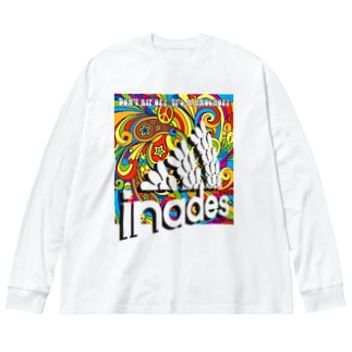 Inades2017 Big silhouette long sleeve T-shirts