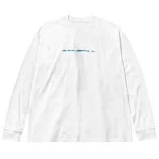 海老のKises Big silhouette long sleeve T-shirts