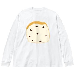 レーズンパン Big silhouette long sleeve T-shirts