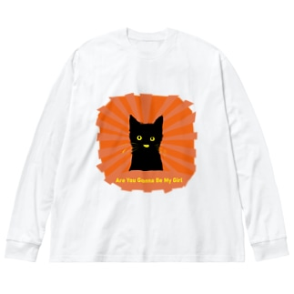 Are You Gonna Be My Girl 002 Big silhouette long sleeve T-shirts