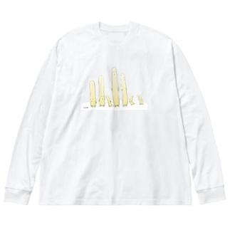 ネフィリム Big silhouette long sleeve T-shirts