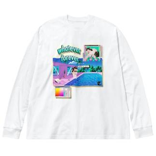 You're so cute💓-03 Big silhouette long sleeve T-shirts