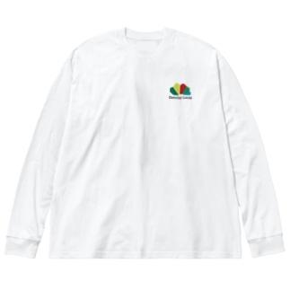ダニエルルーカスロゴ Big silhouette long sleeve T-shirts