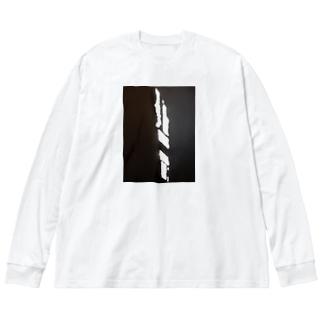 名建築 Big silhouette long sleeve T-shirts