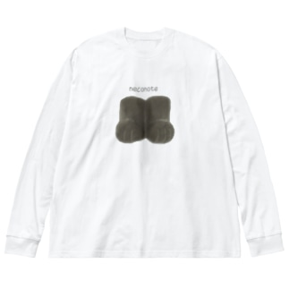 neconote Big silhouette long sleeve T-shirts