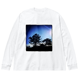 onochan from Insta Big silhouette long sleeve T-shirts