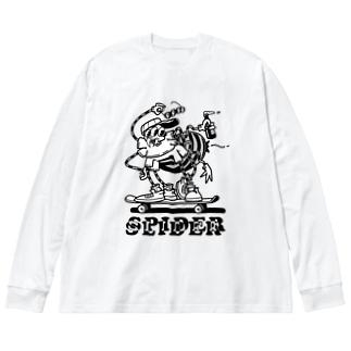"""SPIDER SLIDER"" Big Long Sleeve T-shirt"