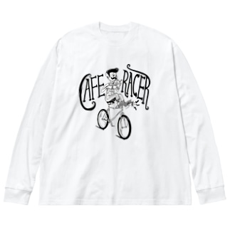 """CAFE RACER"" Big Long Sleeve T-shirt"