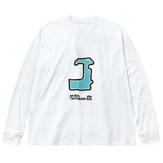 バッククロージャーの片割れ Big silhouette long sleeve T-shirts