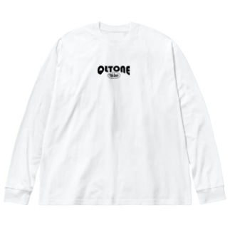 10周年ロゴ Big silhouette long sleeve T-shirts