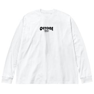 QLTONE10周年記念グッズ特設ページの10周年ロゴ Big silhouette long sleeve T-shirts
