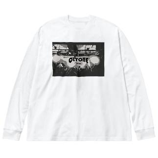 QLTONE10周年記念グッズ特設ページの白熱 Big silhouette long sleeve T-shirts