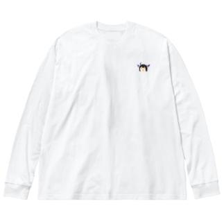楝 Big silhouette long sleeve T-shirts