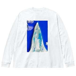 グアダルーペ モザイク Big silhouette long sleeve T-shirts