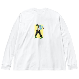 MIC vs Big silhouette long sleeve T-shirts