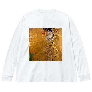 グスタフ・クリムト(Gustav Klimt) / 『アデーレ・ブロッホ=バウアーの肖像 I』(1907年) Big Long Sleeve T-shirt