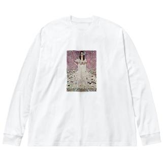 art-standard(アートスタンダード)のグスタフ・クリムト(Gustav Klimt) / 『メーダ・プリマヴェージ』(1912年) Big Silhouette Long Sleeve T-Shirt