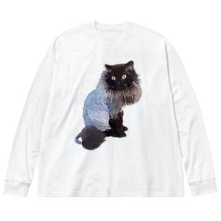 セルカークレックス のみバージョン サマーカット Big silhouette long sleeve T-shirts