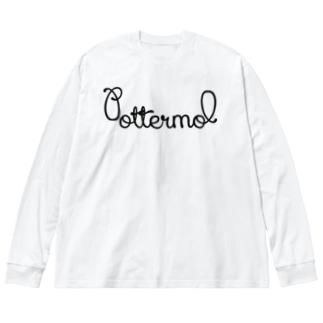 Pottermol Big silhouette long sleeve T-shirts