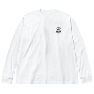 KUSHIKINO FC × MUSOU Big silhouette long sleeve T-shirts