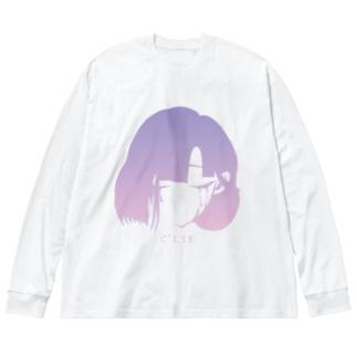009 C'LIE Big silhouette long sleeve T-shirts