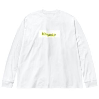 io=ymip Big silhouette long sleeve T-shirts