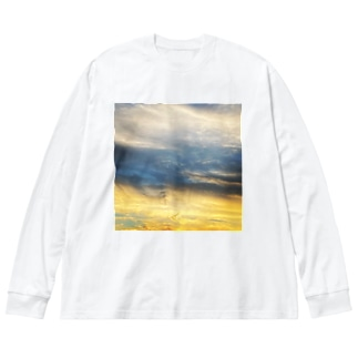 Throughout Big silhouette long sleeve T-shirts