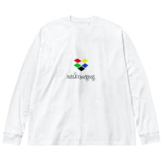 Chromeぼっくす Big silhouette long sleeve T-shirts