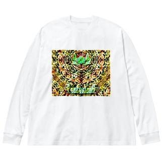 Fusion Big silhouette long sleeve T-shirts