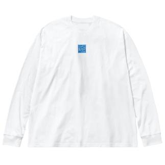 15thサンジゲンメイズ Big silhouette long sleeve T-shirts