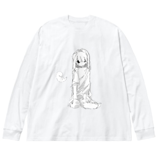 孕 Big silhouette long sleeve T-shirts