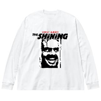THE SHINING Big silhouette long sleeve T-shirts