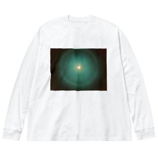 暖かいノスタルジ〜 Big silhouette long sleeve T-shirts