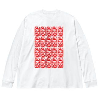 THE MAJIO Big silhouette long sleeve T-shirts