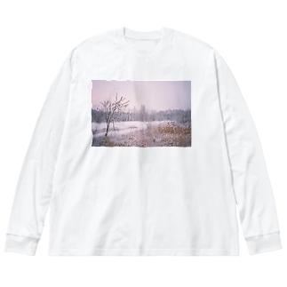 マリアヴェール Big silhouette long sleeve T-shirts