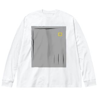 無言~mugon~24 Big silhouette long sleeve T-shirts