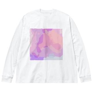oka__のnuance Big Long Sleeve T-shirt