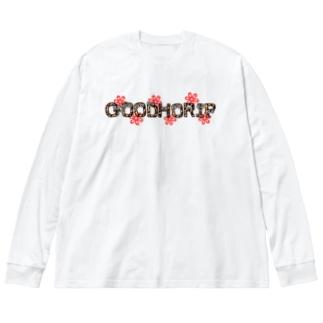 NO1013 Big silhouette long sleeve T-shirts