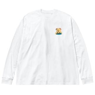 精進せい家(しょうじんせいや) Big silhouette long sleeve T-shirts