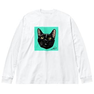 コタロー Big silhouette long sleeve T-shirts