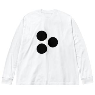 Cmr Plcmnt 11P Big silhouette long sleeve T-shirts