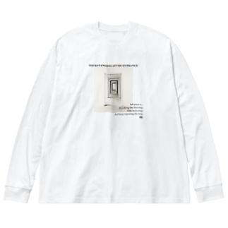 曹源一適水  Big silhouette long sleeve T-shirts