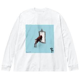 May29 Big silhouette long sleeve T-shirts