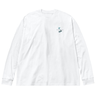 journey Big silhouette long sleeve T-shirts