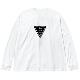 How are you? Big silhouette long sleeve T-shirts