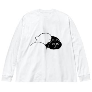 SAIWAI DESIGN STOREのスピリチュアル・ヒーリング Big Long Sleeve T-shirt